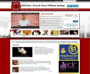 SNS Post news website redesign