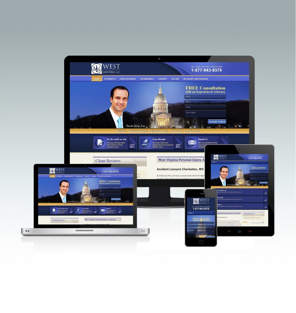 West Law Firm LLC website redesign